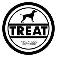 TREAT HEALTHY DOG HAPPY DOG