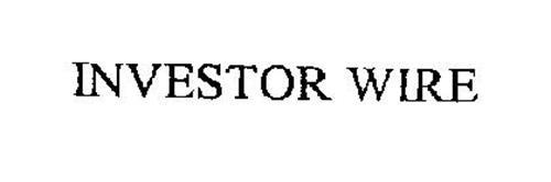 INVESTOR WIRE
