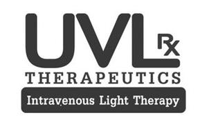 UVLRX THERAPEUTICS INTRAVENOUS LIGHT THERAPY