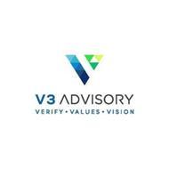 V3 ADVISORY VERIFY · VALUES · VISION