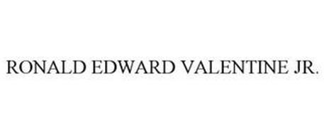 RONALD EDWARD VALENTINE JR.