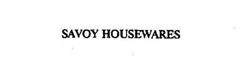 SAVOY HOUSEWARES
