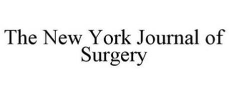 THE NEW YORK JOURNAL OF SURGERY