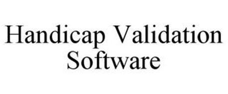 HANDICAP VALIDATION SOFTWARE