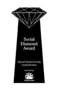SOCIAL DIAMOND AWARD SPECIAL NEEDS FRIENDLY ESTABLISHMENT AWARDED BY VALLEYSOCIALS