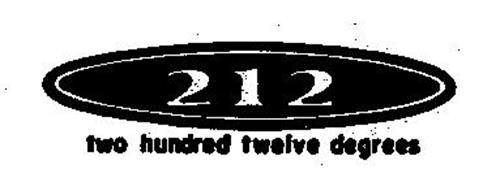 212 TWO HUNDRED TWELVE DEGREES