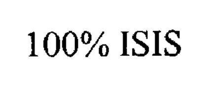 100% ISIS