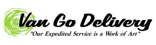 "VAN GO DELIVERY ""OUR EXPEDITED SERVICE IS A WORK OF ART"""
