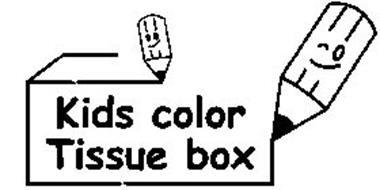 KIDS COLOR TISSUE BOX
