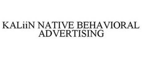 KALIIN NATIVE BEHAVIORAL ADVERTISING