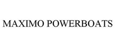 MAXIMO POWERBOATS