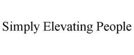 SIMPLY ELEVATING PEOPLE