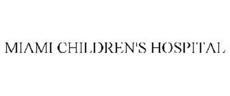 MIAMI CHILDREN'S HOSPITAL