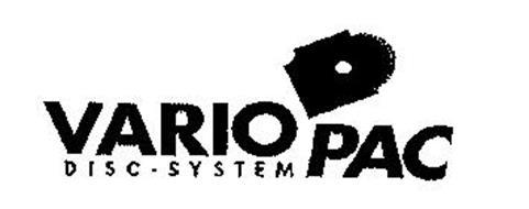 VARIO PAC DISC-SYSTEM