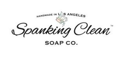 SPANKING CLEAN SOAP CO. HANDMADE IN LOSANGELES