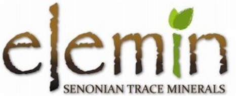 ELEMIN SENONIAN TRACE MINERALS