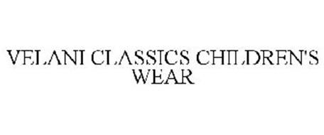 VELANI CLASSICS CHILDREN'S WEAR