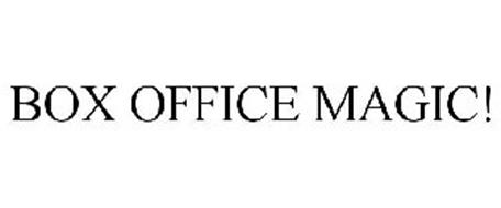 BOX OFFICE MAGIC!