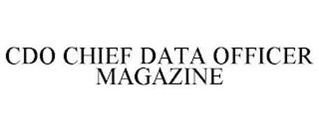 CDO CHIEF DATA OFFICER MAGAZINE