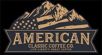 AMERICAN CLASSIC COFFEE CO. LIFE LIBERTY GREAT COFFEE