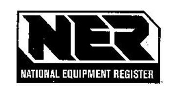 NER NATIONAL EQUIPMENT REGISTER
