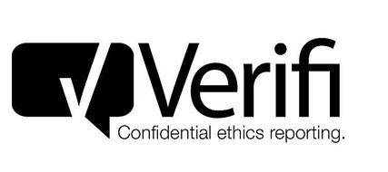 VERIFI CONFIDENTIAL ETHICS REPORTING.