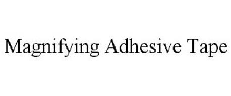 MAGNIFYING ADHESIVE TAPE