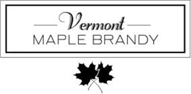 VERMONT MAPLE BRANDY