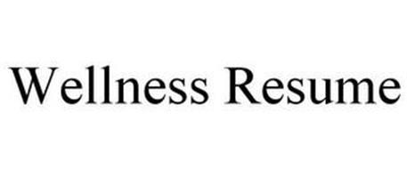 WELLNESS RESUME