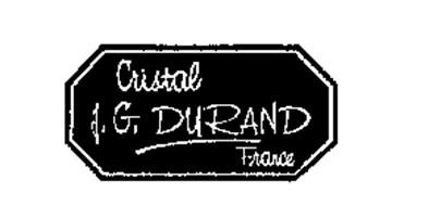 cristal j g durand france trademark of verrerie cristallerie d 39 arques j g durand et cie. Black Bedroom Furniture Sets. Home Design Ideas
