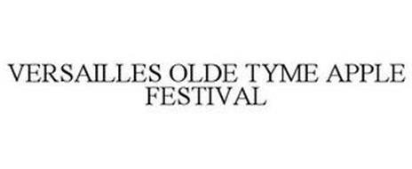 VERSAILLES OLDE TYME APPLE FESTIVAL