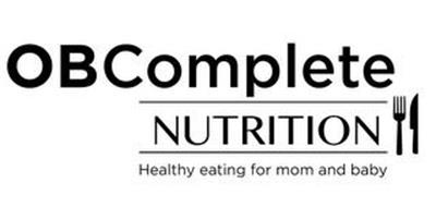 OBCOMPLETE NUTRITION HEALTHY EATING FORMOM AND BABY
