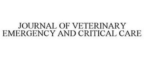 JOURNAL OF VETERINARY EMERGENCY AND CRITICAL CARE