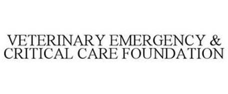 VETERINARY EMERGENCY & CRITICAL CARE FOUNDATION