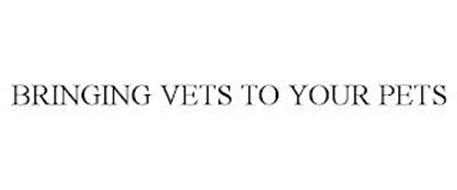 BRINGING VETS TO YOUR PETS