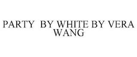 PARTY BY WHITE BY VERA WANG