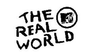 THE REAL WORLD MTV MUSIC TELEVISION