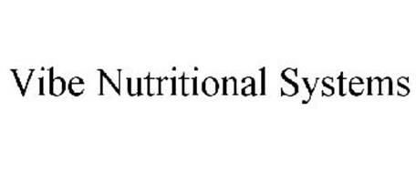 VIBE NUTRITIONAL SYSTEMS