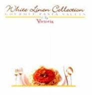 WHITE LINEN COLLECTION GOURMET PASTA SAUCES BY VICTORIA