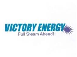 VICTORY ENERGY FULL STEAM AHEAD!