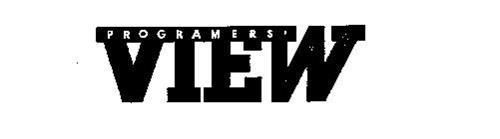 PROGRAMER'S VIEW