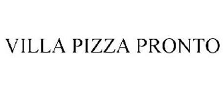 VILLA PIZZA PRONTO