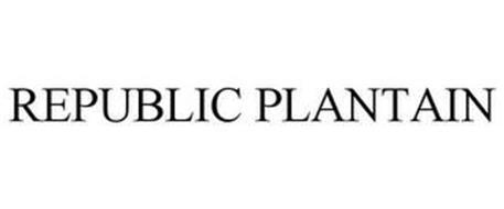 PLANTAIN REPUBLIC