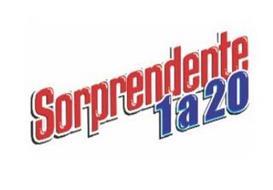 SORPRENDENTE 1 A 20