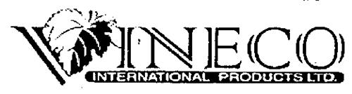 VINECO INTERNATIONAL PRODUCTS LTD.
