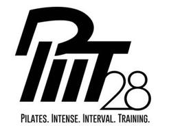 PIIT28 PILATES. INTENSE. INTERVAL. TRAINING.