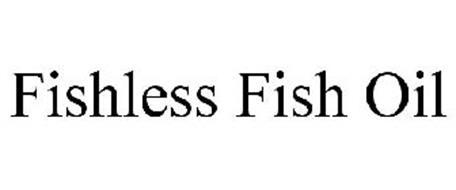 FISHLESS FISH OIL