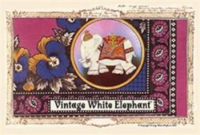 VINTAGE WHITE ELEPHANT