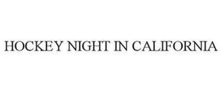 HOCKEY NIGHT IN CALIFORNIA