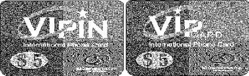 VIPCARD INTERNATIONAL PHONE CARD